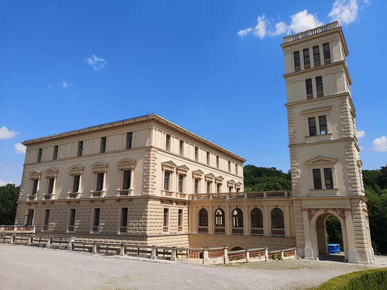 Schloss-fassade
