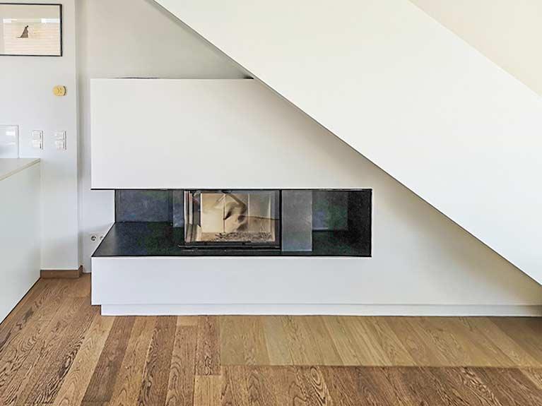 Dachboden-Anstrich