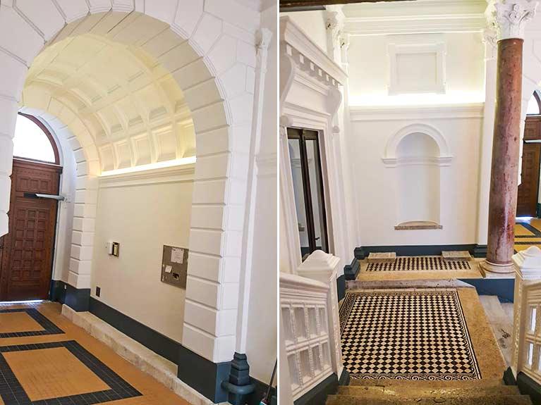 Stiegenhaus-restauration